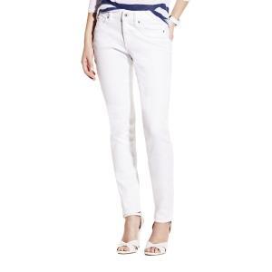 ヴィンスカムート レディース デニム ボトムス Five-Pocket Skinny Jeans Ultra White|astyshop