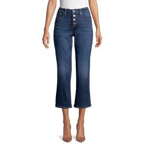 ラッキーブランド レディース デニム ボトムス Cropped Bootcut Jeans Abbot|astyshop