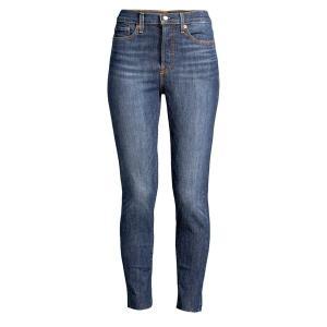 リーバイス レディース デニム ボトムス Wedgie Skinny Ankle-Jeans Dark Blue|astyshop