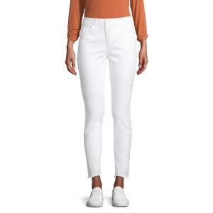デモクラシー レディース デニム ボトムス Ankle Jeans Optic White|astyshop