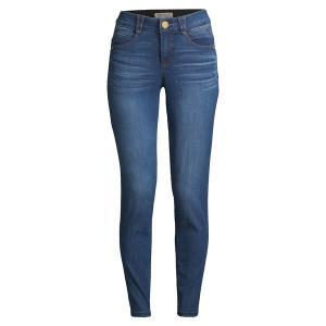 デモクラシー レディース デニム ボトムス ABS Solution Denim Jeans Blue|astyshop