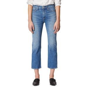 ハドソンジーンズ レディース デニム ボトムス Remi Cropped Straight-Leg Jeans Lullaby|astyshop