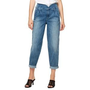 サンクチュアリー レディース デニム ボトムス Hanne Pleated Tapered Jeans Blue Wave|astyshop