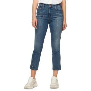 サンクチュアリー レディース デニム ボトムス Straight High-Rise Cropped Jeans Sparrow|astyshop