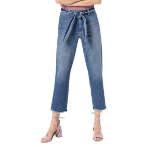 ジョーズジーンズ レディース デニム ボトムス Self-Tie Cropped Jeans Allison|astyshop