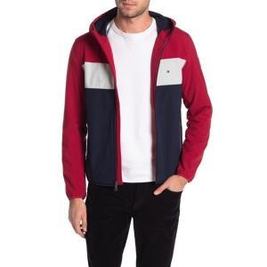 トミー ヒルフィガー メンズ パーカー・スウェットシャツ アウター Soft Shell Fleece Active Hoodie RED/ICE/NAVY RWE|astyshop