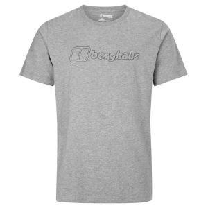 バーグハウス Tシャツ メンズ トップス Berghaus Big Outline Logo Gre...