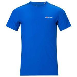 バーグハウス Tシャツ メンズ トップス Berghaus Super Tech Blue / Bl...