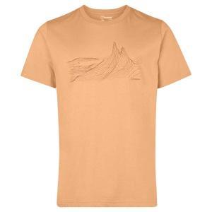 バーグハウス Tシャツ メンズ トップス Berghaus Mountain Contour Yel...