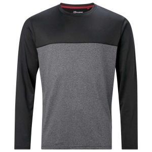 バーグハウス Tシャツ メンズ トップス Berghaus Voyager Crew Black /...