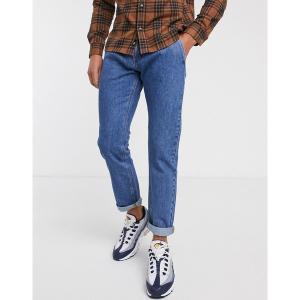 ジャック アンド ジョーンズ メンズ デニム ボトムス Jack & Jones Intelligence comfort fit carpenter jeans in vintage wash Blue denim|astyshop