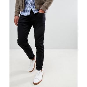 ジースター メンズ デニム ボトムス G-Star 3301 slim fit jeans in rinsed Black|astyshop