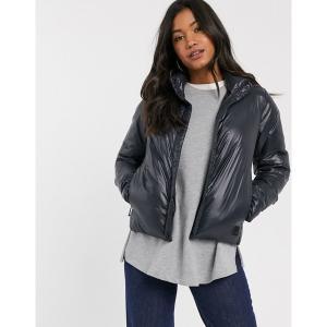 ロル レディース コート アウター Lole center jacket in black Blac...