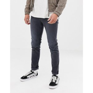 チープマンデー メンズ デニム ボトムス Cheap Monday Slim Tapered Jeans In Gray Blue|astyshop