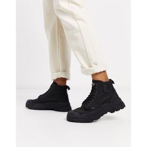 パラディウム メンズ ブーツ&レインブーツ シューズ Palladium pallakix hi cvs boots in black Black|astyshop