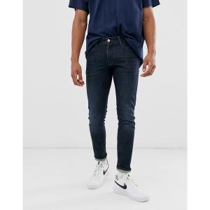 アルマーニエクスチェンジ メンズ デニム ボトムス Armani Exchange J14 stretch skinny fit jeans in dark wash Dark wash|astyshop