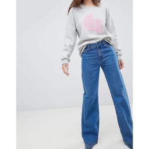 ゲタス レディース デニム ボトムス Gestuz Gwyneth Flared Jeans Carolina blue|astyshop