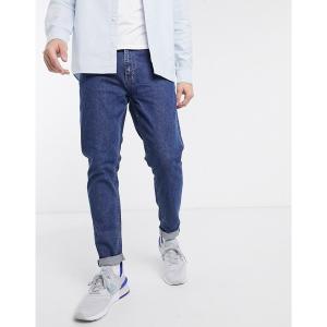 ウィークデイ メンズ デニム ボトムス Weekday Cone slim tapered jeans    in blue Blue|astyshop