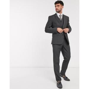 エイソス メンズ カジュアル ボトムス ASOS DESIGN slim suit pants in charcoal Charcoal astyshop