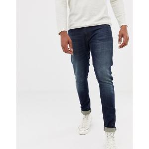 ヌーディージーンズ メンズ デニム ボトムス Nudie Jeans Co Tight Terry super skinny fit jeans in strong worn Strong worn|astyshop