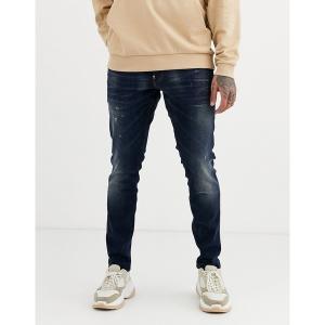 ジースター メンズ デニム ボトムス G-Star skinny fit jeans in mid wash Mid wash|astyshop
