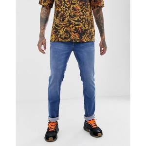 ウィーエスシー メンズ デニム ボトムス WESC Eddy slim jeans Blue|astyshop