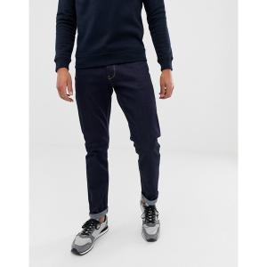 エンポリオ アルマーニ メンズ デニム ボトムス Emporio Armani J06 slim fit dark wash jeans Blue|astyshop