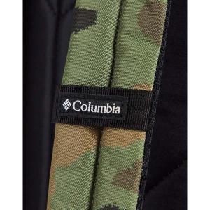 コロンビア メンズ バックパック・リュックサック バッグ Columbia Zigzag 30L camo backpack in green Camo|astyshop