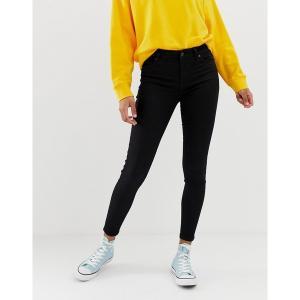 ニュールック レディース デニム ボトムス New Look india jeans with super skinny fit in black Black|astyshop