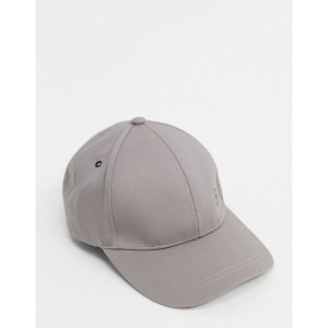 ポールスミス メンズ 帽子 アクセサリー PS Paul Smith zebra logo cap in gray Gray|astyshop
