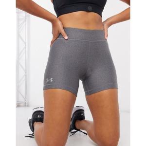 アンダーアーマー レディース カジュアルパンツ ボトムス Under Armour Training booty shorts in grey Grey astyshop