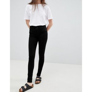 ウェーブン レディース デニム ボトムス Waven Asa Mid Rise Skinny Jeans True black|astyshop