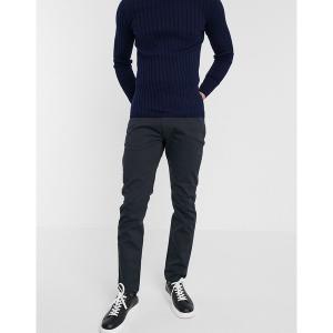 エンポリオ アルマーニ メンズ カジュアル ボトムス Emporio Armani J06 slim fit pants in dark wash Navy|astyshop
