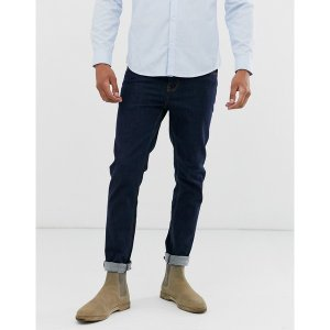 エイソス メンズ デニム ボトムス ASOS DESIGN skinny jeans in indigo Indigo|astyshop