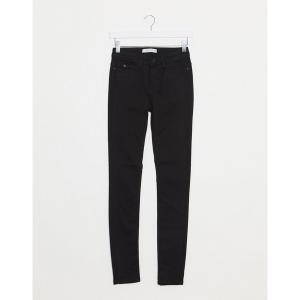 ジェイディーワイ レディース デニム ボトムス JDY jake regular skinny jeans in black denim Black|astyshop