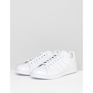 アディダスオリジナルス メンズ スニーカー シューズ adidas Originals Stan Smith sneakers in white s75104 White astyshop