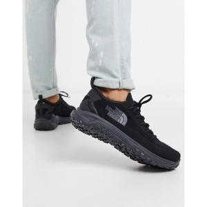 ノースフェイス メンズ スニーカー シューズ The North Face Truxel sneaker in black Black astyshop
