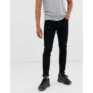 ディーゼル メンズ デニム ボトムス Diesel D-Istort super skinny fit jeans in 069EF stay black Black|astyshop