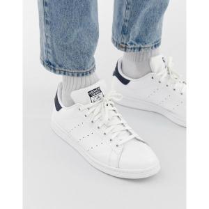 アディダスオリジナルス メンズ スニーカー シューズ adidas Originals Stan Smith leather sneakers in white m20325 White|astyshop