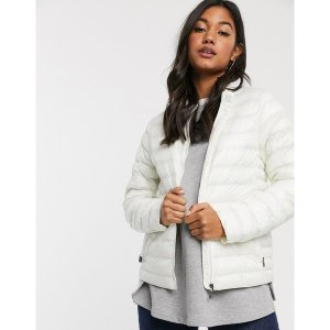 ロル レディース コート アウター Lole Maria packable jacket White