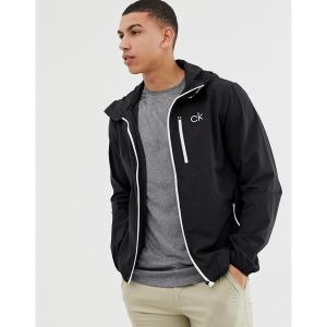 カルバンクラインゴルフ メンズ ジャケット&ブルゾン アウター Calvin Klein Golf ultra lite jacket in black C9389 Black|astyshop