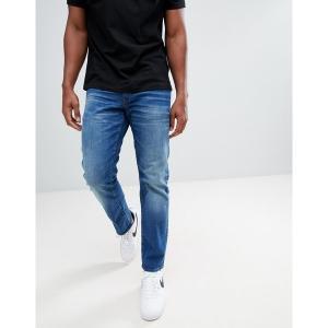 ジースター メンズ デニム ボトムス G-Star 3301 straight jeans medium aged Medium aged|astyshop