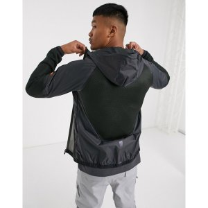 エレッセ メンズ パーカー・スウェットシャツ アウター ellesse Sport Polenta full-zip hoodie in dark gray Dark gray|astyshop