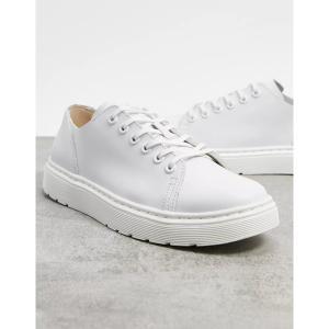 ドクターマーチン メンズ スニーカー シューズ Dr Martens dante sneakers in white White|astyshop