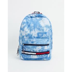 トミー ヒルフィガー メンズ バックパック・リュックサック バッグ Tommy Hilfiger tie dye gino backpack in blue Blue astyshop