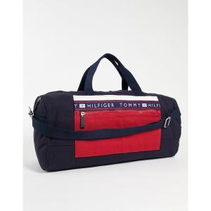 トミー ヒルフィガー メンズ ボストンバッグ バッグ Tommy Hilfiger hayes duffle bag Navy/red/white|astyshop