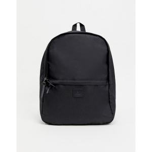 エイソス メンズ バックパック・リュックサック バッグ ASOS Unrvlld Supply backpack in black with branded patch Black|astyshop