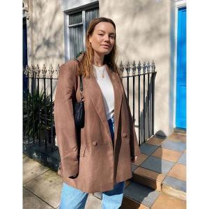 エイソス レディース ジャケット・ブルゾン アウター ASOS DESIGN perfect blazer in brown Brown astyshop