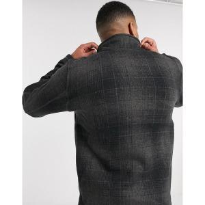 ノースフェイス メンズ パーカー・スウェットシャツ アウター The North Face Gordon Lyons Novelty 1/4 zip fleece in gray Gray|astyshop