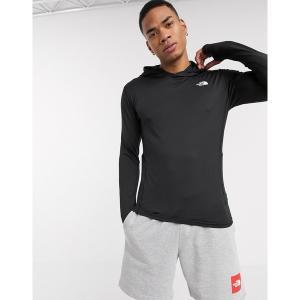 ノースフェイス メンズ パーカー・スウェットシャツ アウター The North Face Warm poly hoodie in black Black|astyshop